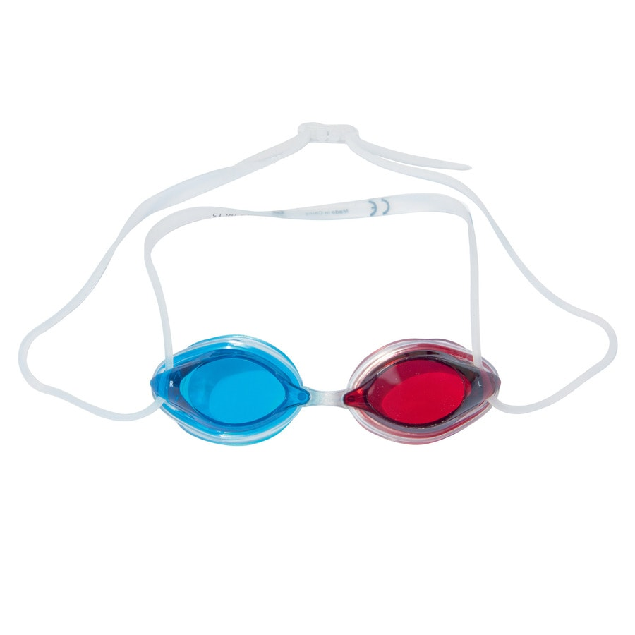 Shop splash play 2 pack blue red swim goggles at for Pool koi goggles