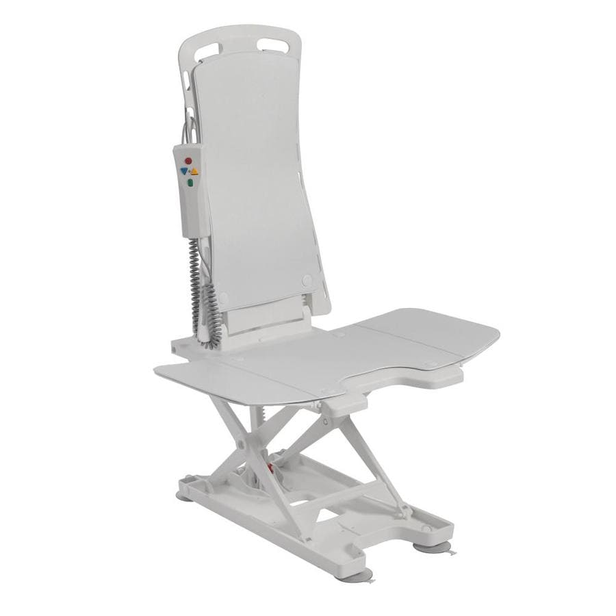 Drive Medical White Plastic Freestanding Shower Seat