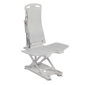 drive medical white plastic shower seat