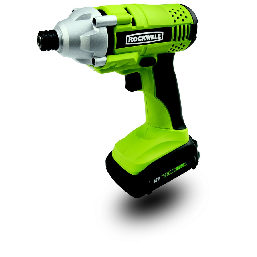 ROCKWELL Lithiumtech 18-Volt 1/4-in Cordless Variable Speed Impact Driver