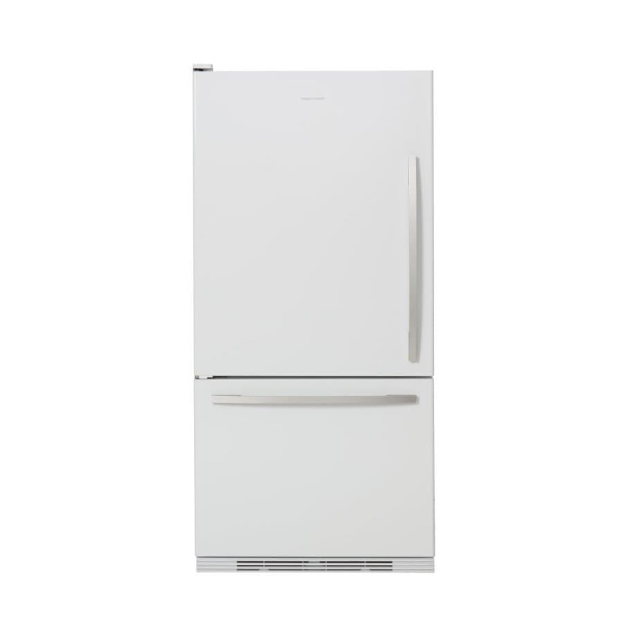 Fisher & Paykel 17.5-cu ft Bottom Freezer Counter-Depth Refrigerator (White) ENERGY STAR