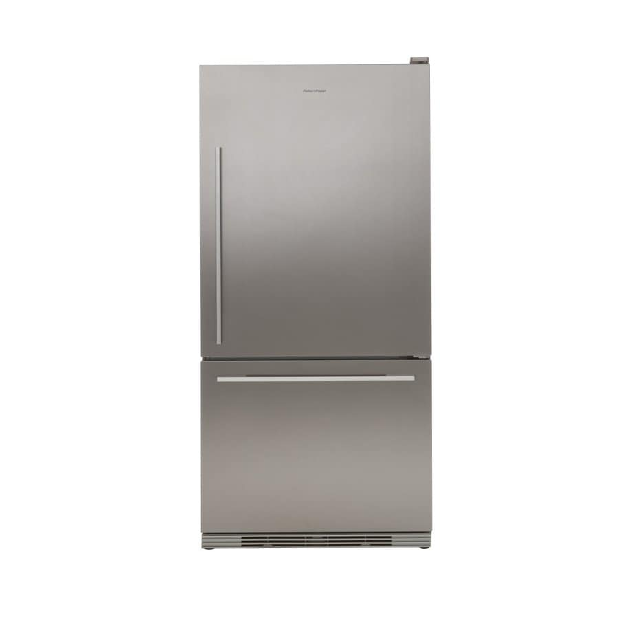 Fisher & Paykel 17.5-cu ft Bottom Freezer Counter-Depth Refrigerator (Stainless Steel) ENERGY STAR