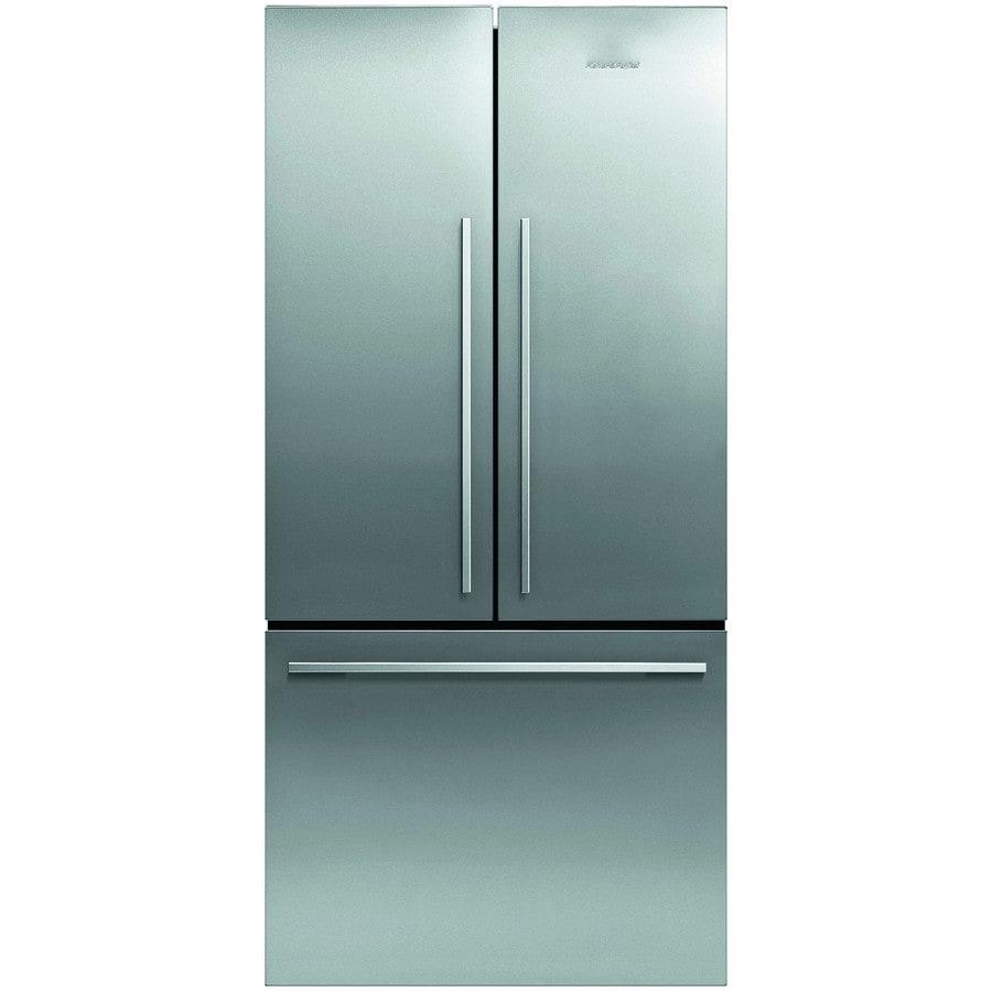 Fisher & Paykel 4 Series 16.9-cu ft French Door Refrigerator (EZKleen Stainless Steel)
