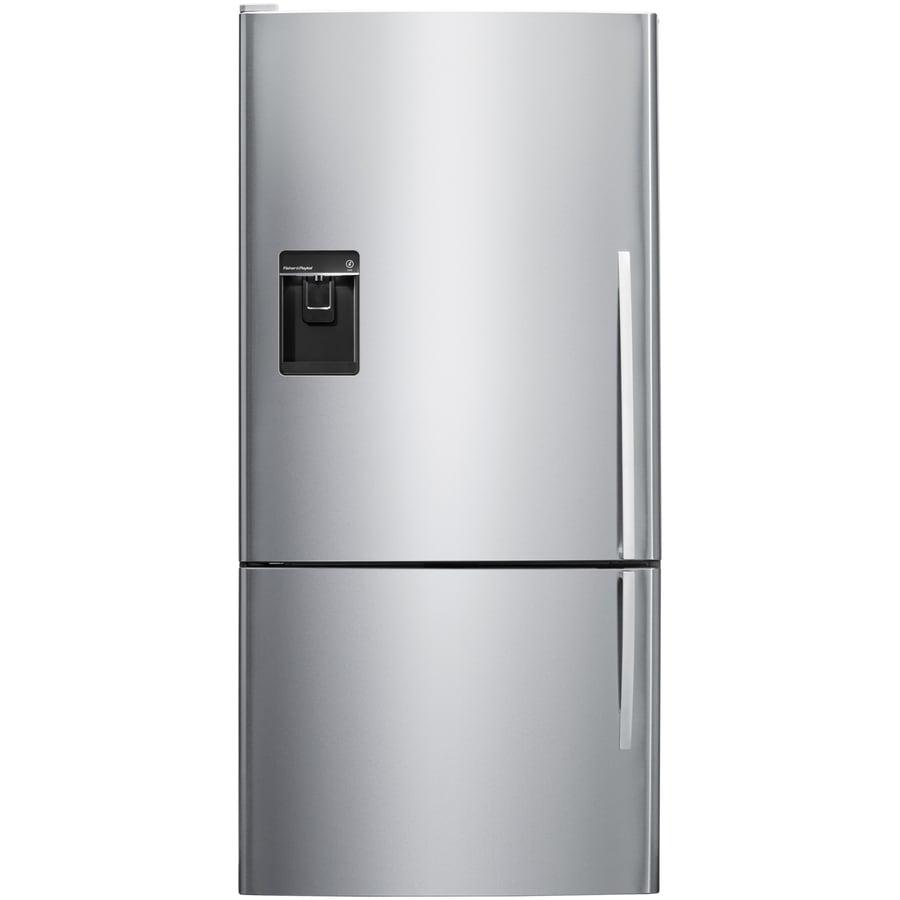 shop fisher paykel 17 6 cu ft counter depth bottom freezer refrigerator with single ice maker. Black Bedroom Furniture Sets. Home Design Ideas