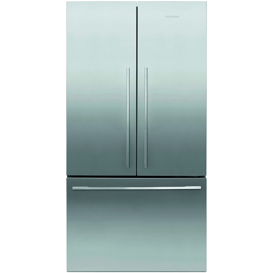 20 Cu Ft French Door Refrigerator: Shop Fisher & Paykel 5 Series 20.1-cu Ft French Door Refrigerator (EZKLEEN STAINLESS STEEL