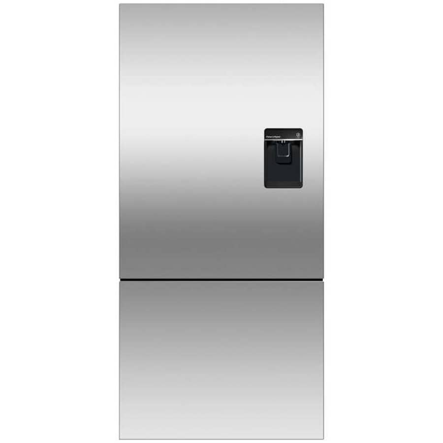 Fisher & Paykel 17.5-cu ft Counter-Depth Bottom-Freezer Refrigerator with Ice Maker (Stainless Steel) ENERGY STAR