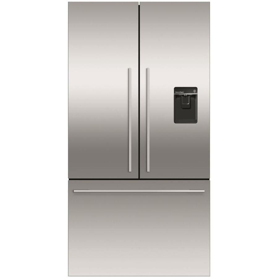 20 Cu Ft French Door Refrigerator: Shop Fisher & Paykel 20.1-cu Ft French Door Refrigerator With Ice Maker (Fingerprint-Resistant
