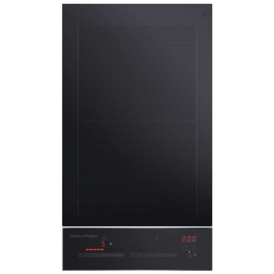 Fisher & Paykel 2-Element Smooth Surface Induction Electric Cooktop (Black) (Common: 12-in; Actual 11.8125-in)