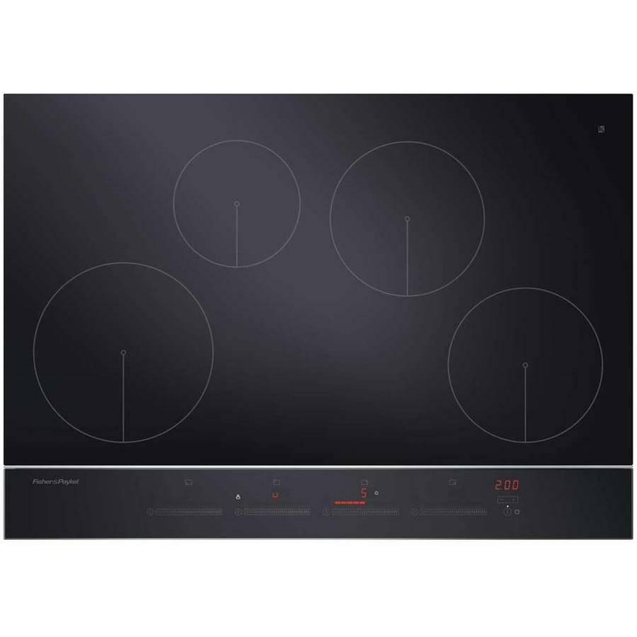 Fisher & Paykel Smooth Surface Induction Electric Cooktop (Black) (Common: 30-in; Actual 29.5-in)
