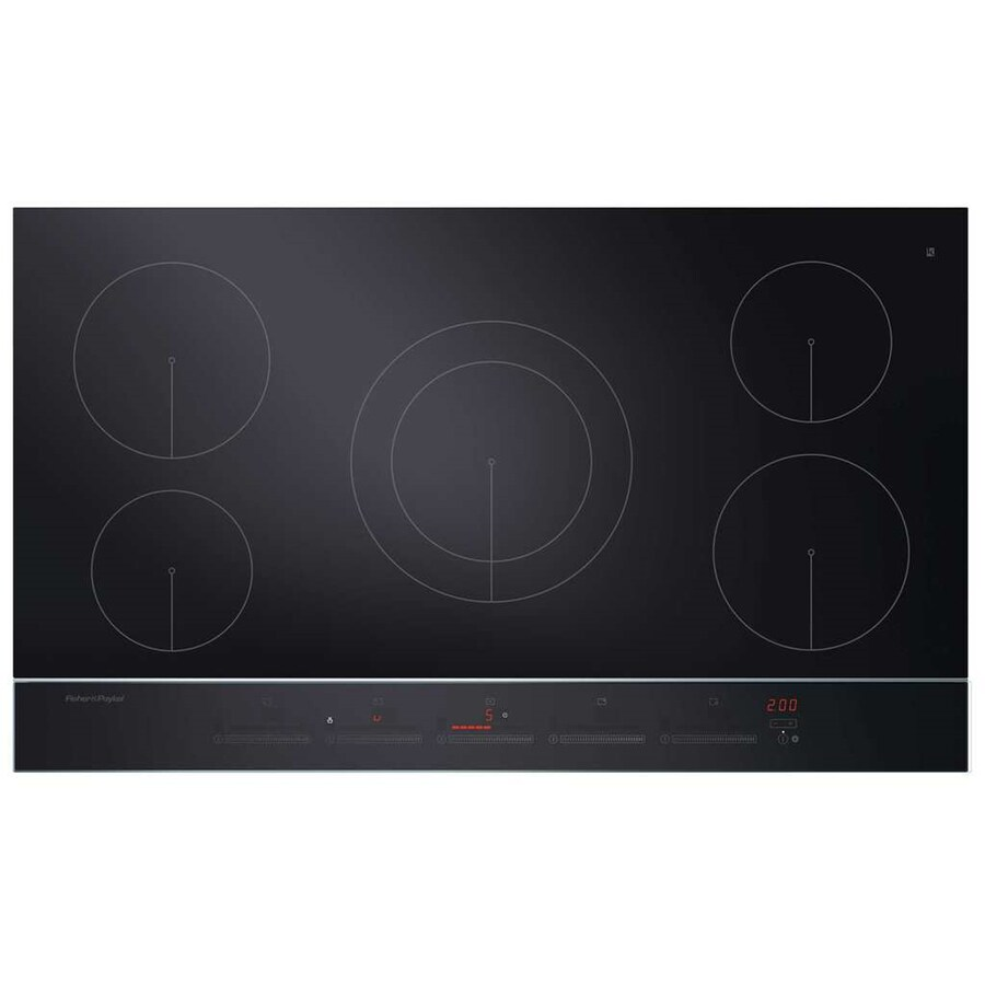 Fisher & Paykel 5-Element Induction Cooktop (Black) (Common: 36 Inch; Actual 35.4375-in)