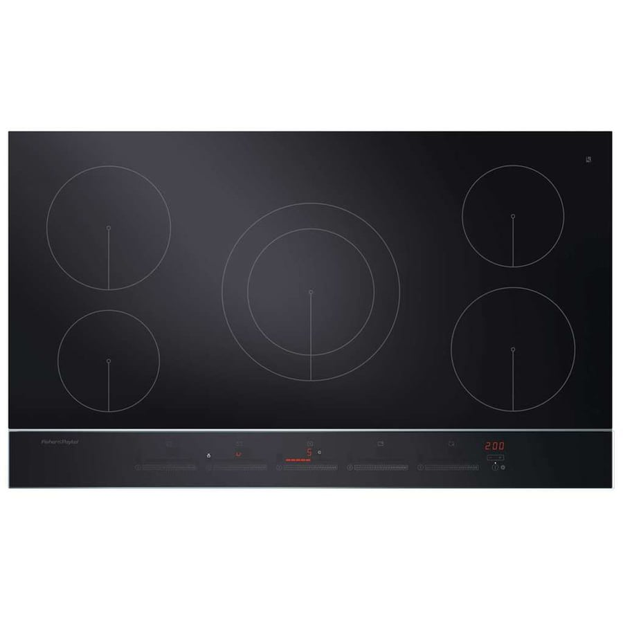 Fisher & Paykel 5-Element Smooth Surface Induction Electric Cooktop (Black) (Common: 36-in; Actual 35.4375-in)