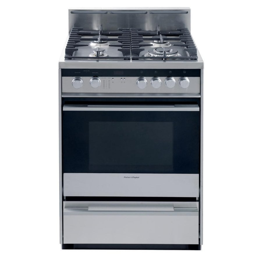 Fisher & Paykel Freestanding 2.5-cu ft Convection Gas Range (Stainless Steel) (Common:; Actual: 23.9-in)