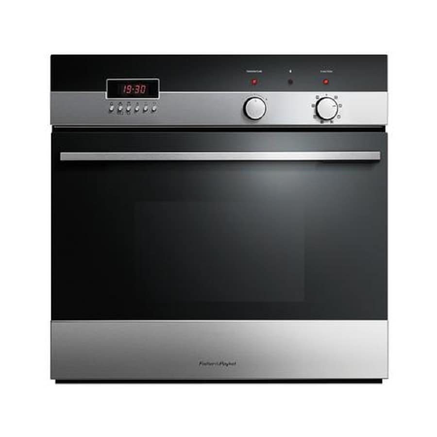 Fisher & Paykel 4 Series Self-Cleaning Convection Single Electric Wall Oven (Stainless Steel) (Common: 24-in; Actual 24-in)