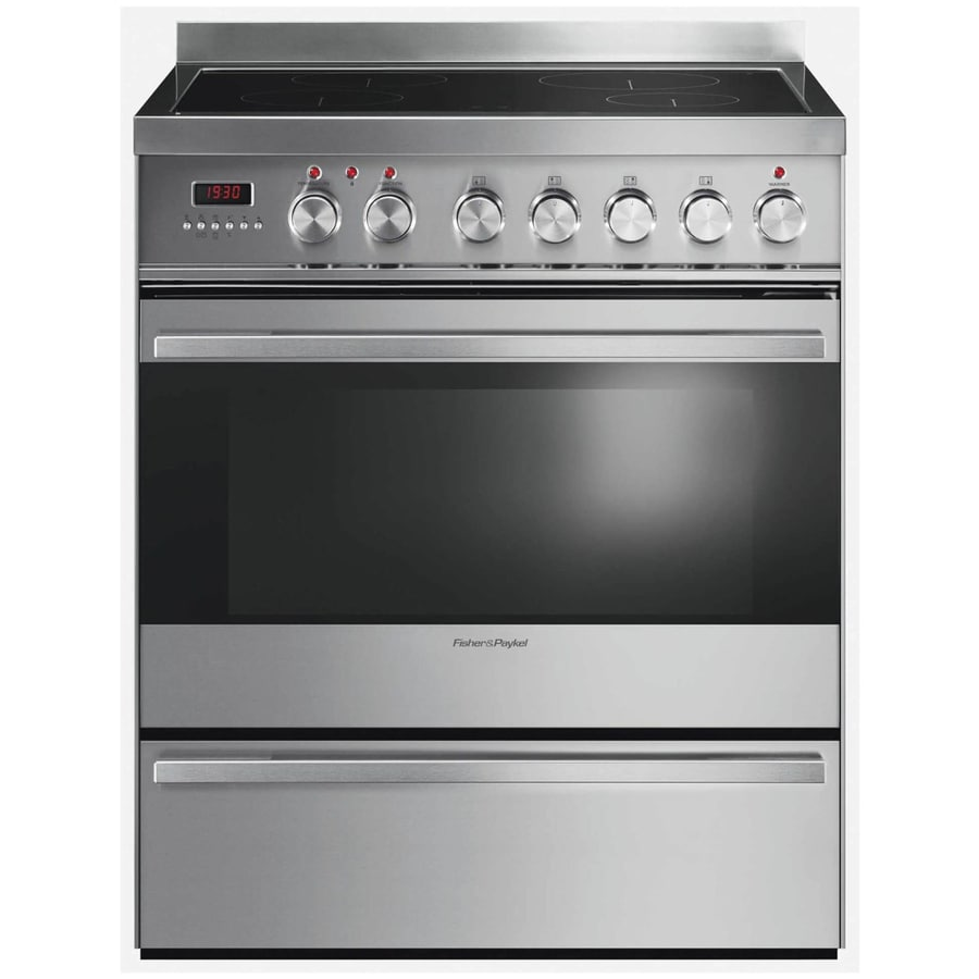 Fisher & Paykel 3.6-cu ft Freestanding Induction Range (Stainless Steel) (Common: 30-in; Actual 29.87-in)