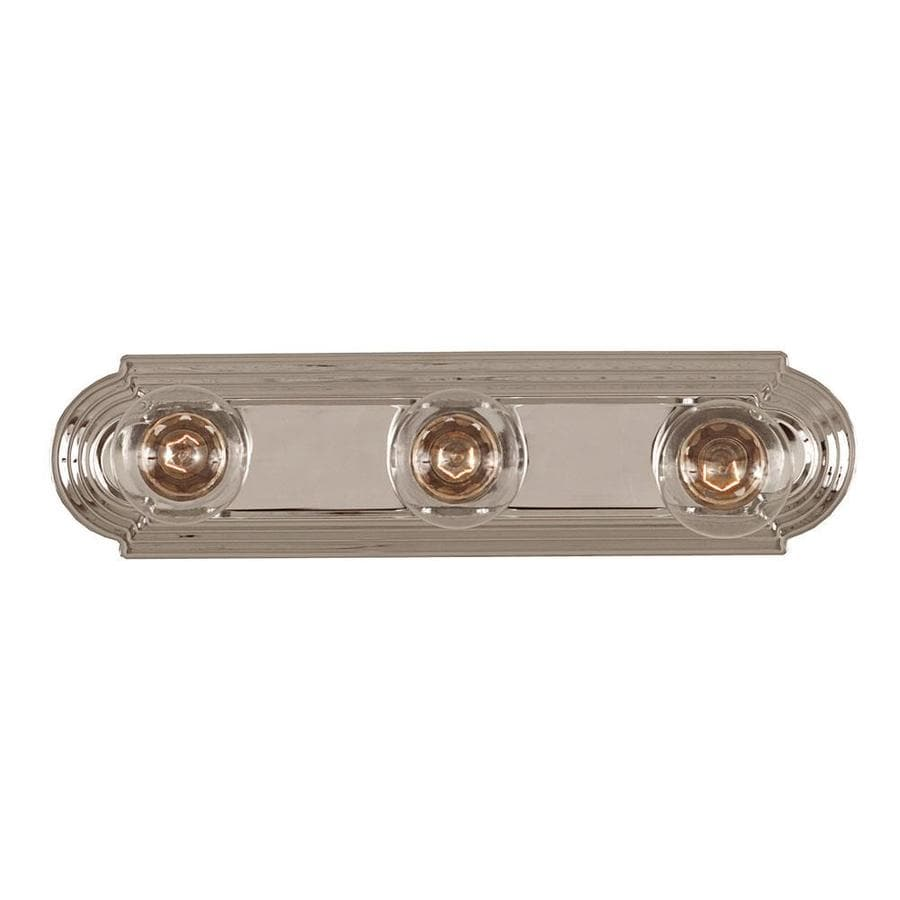 Shandy 3-Light 4-in Chrome Vanity Light