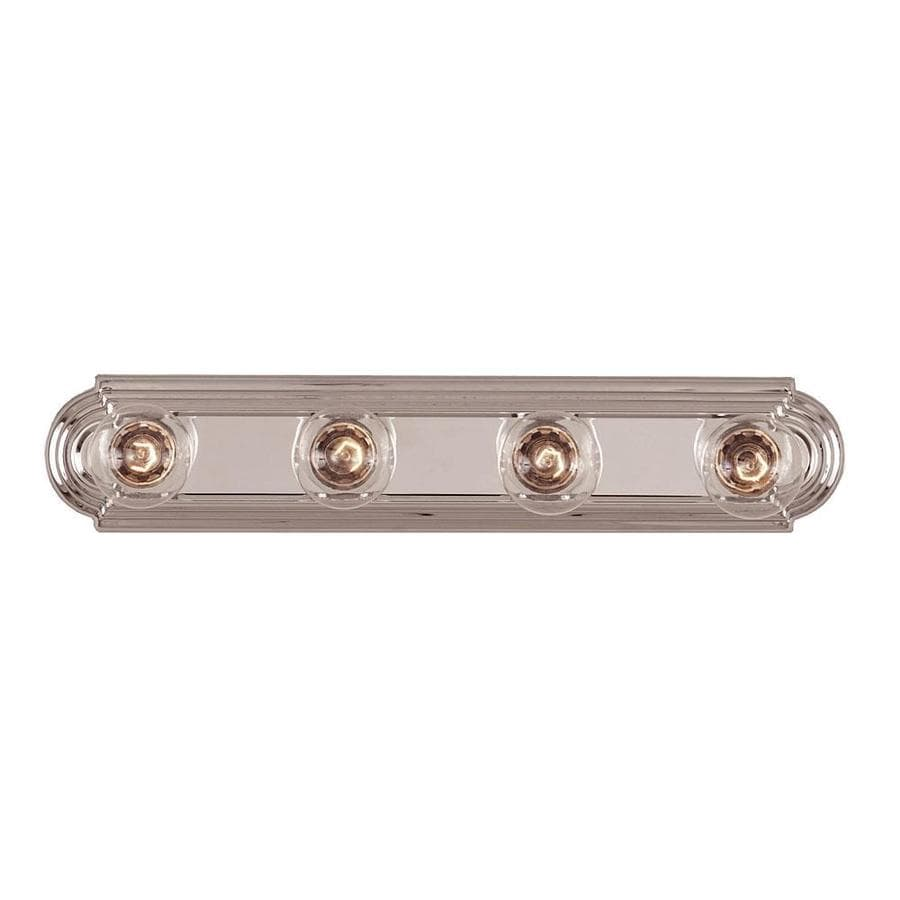 Shandy 4-Light 4-in Chrome Vanity Light