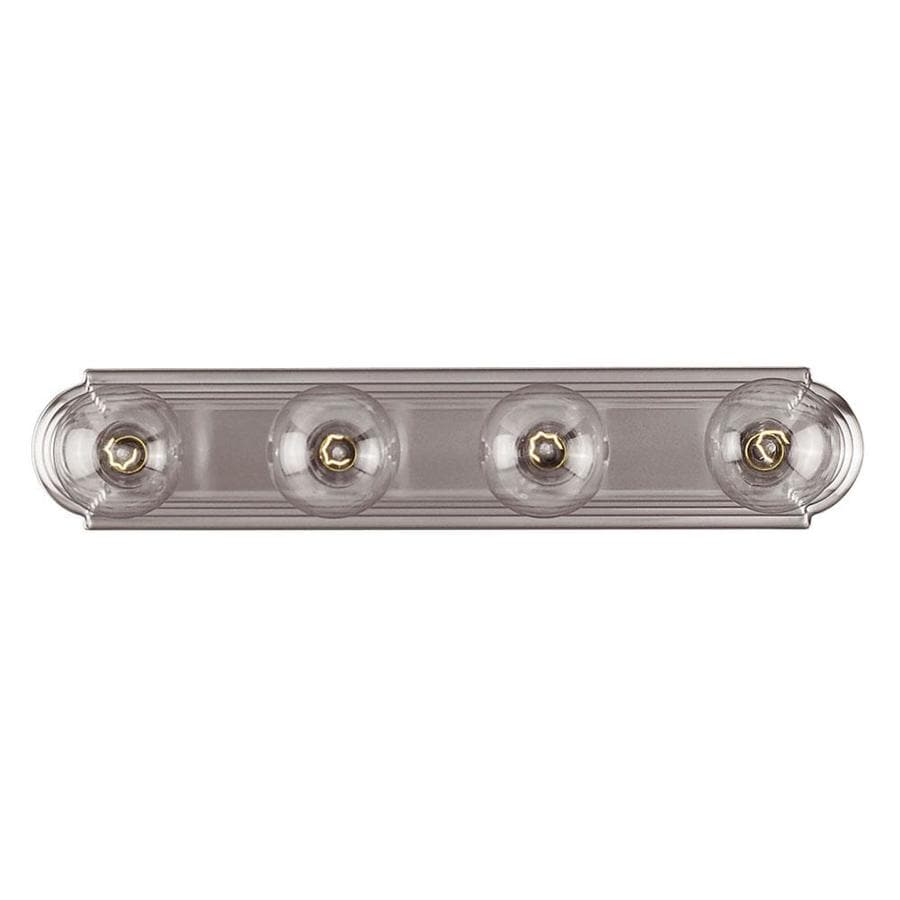 Shandy 4-Light 4-in Satin Nickel Vanity Light