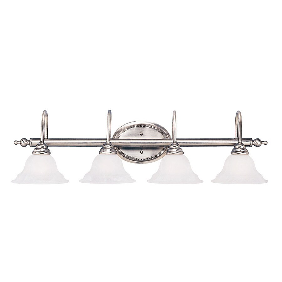 Shandy 4-Light 9-in Pewter Vanity Light