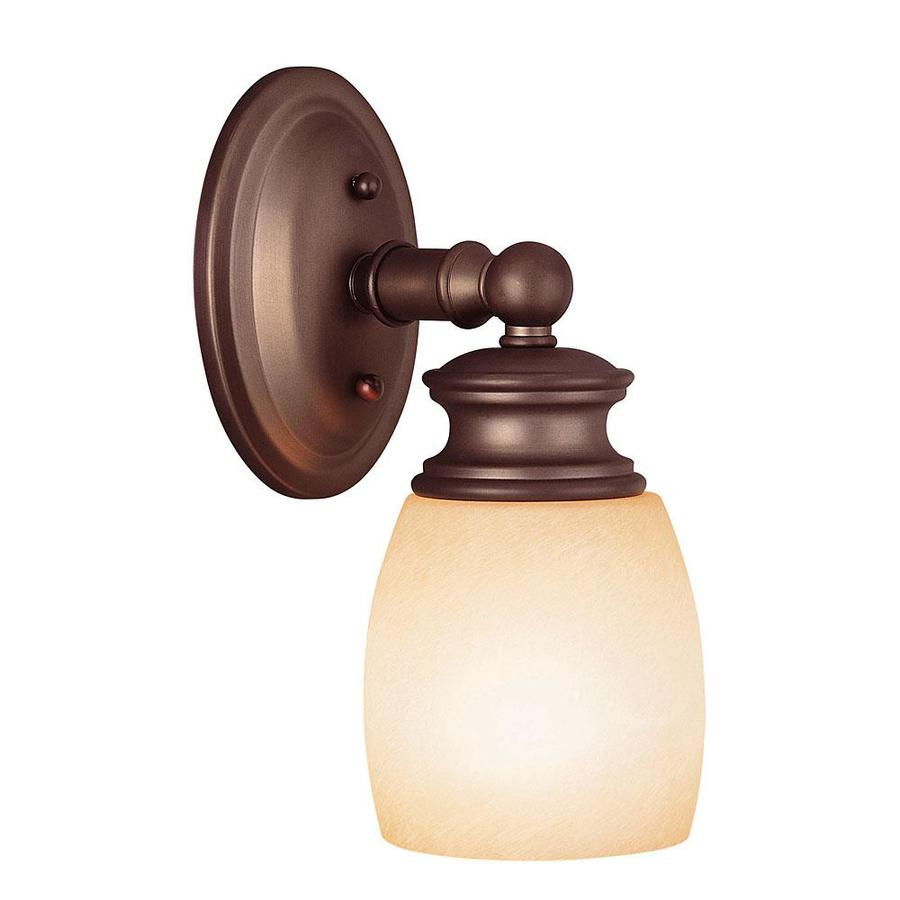 Shandy 1-Light 10.5-in Oiled burnished bronze Vanity Light