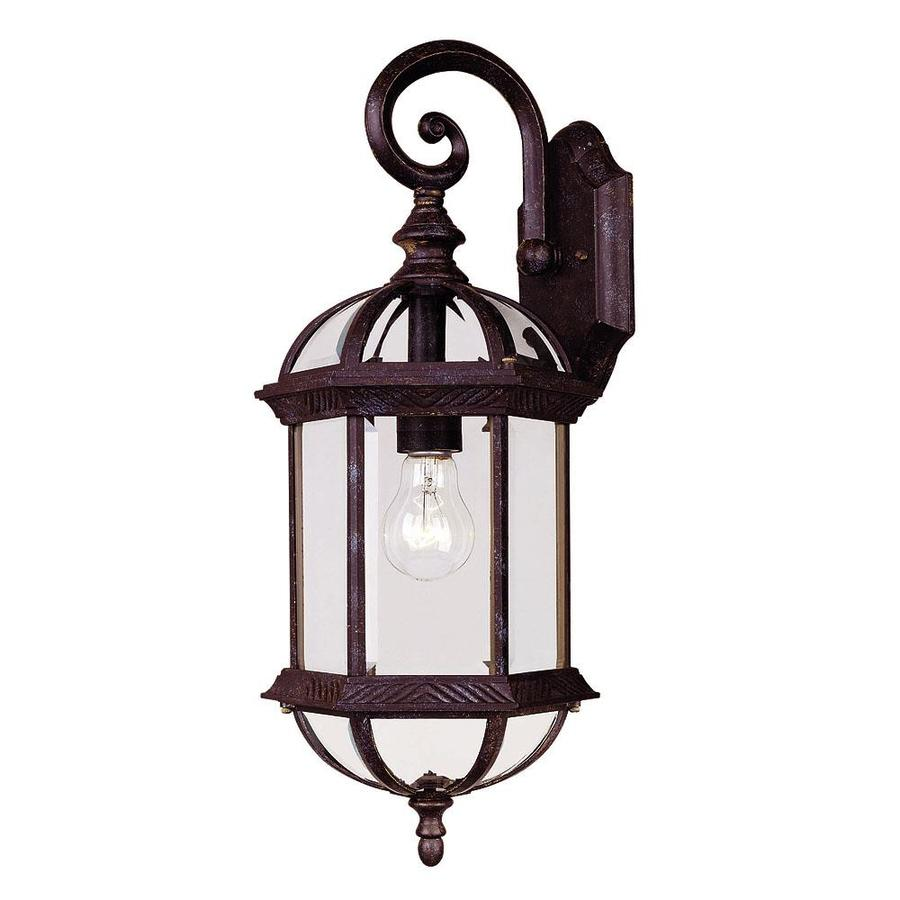 Shop 20 In H Rustic Bronze Outdoor Wall Light At Lowes Com