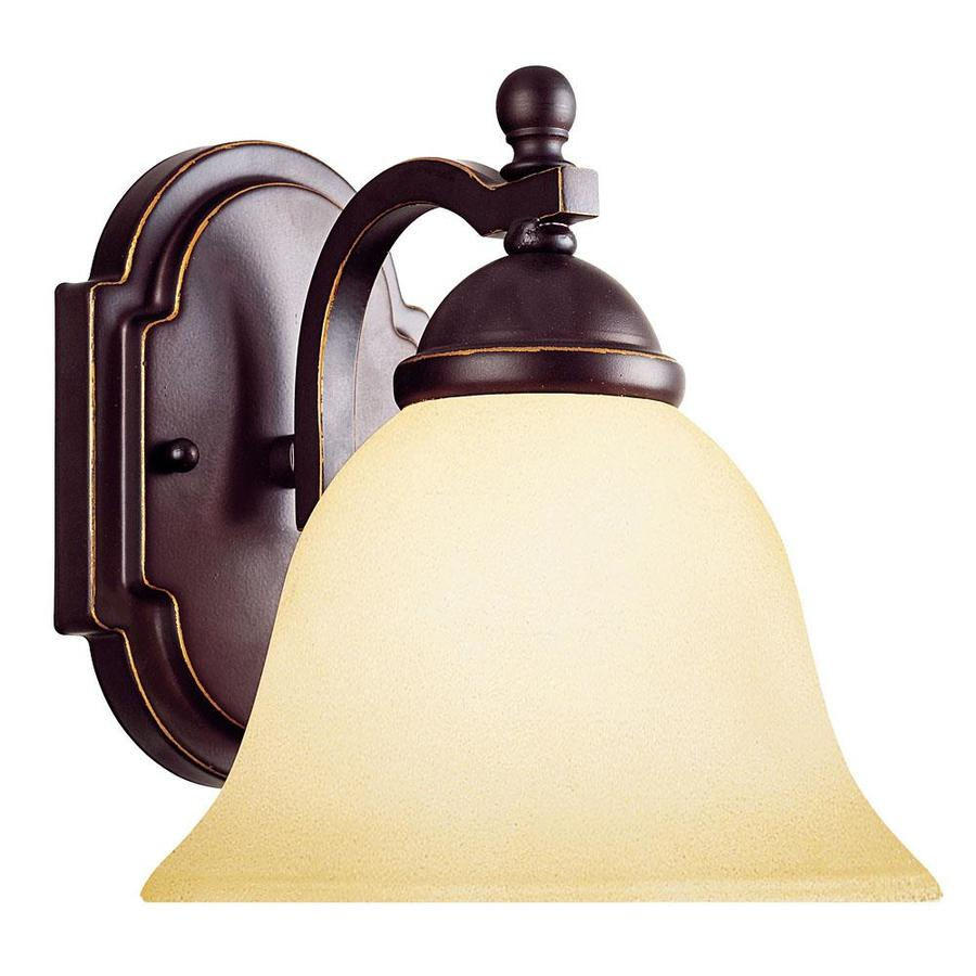 Shandy 7.25-in W 1-Light Slate Arm Wall Sconce