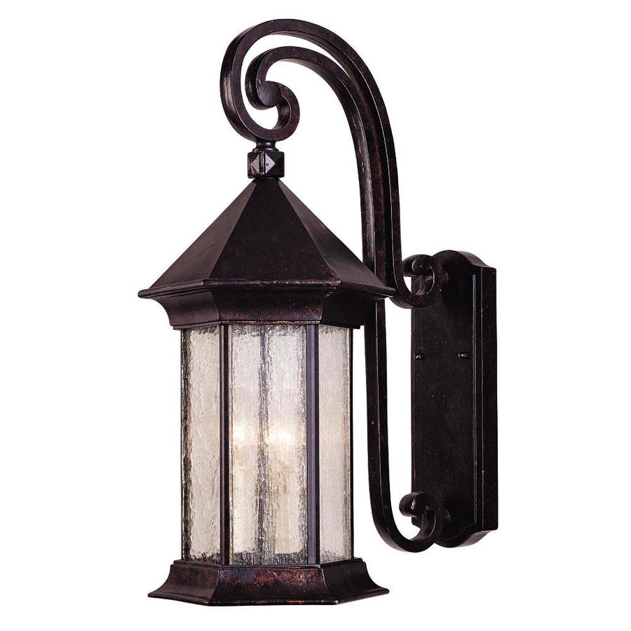 21.5-in H Oily Bronze Outdoor Wall Light