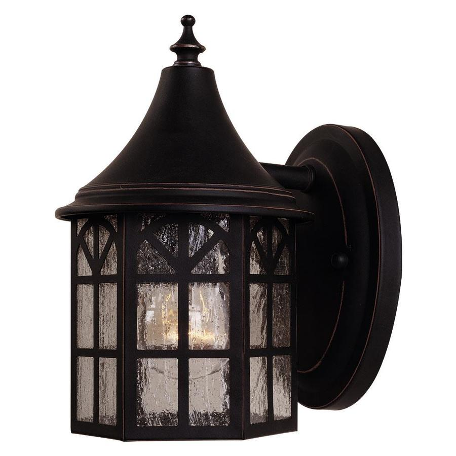 8.75-in H Slate Outdoor Wall Light