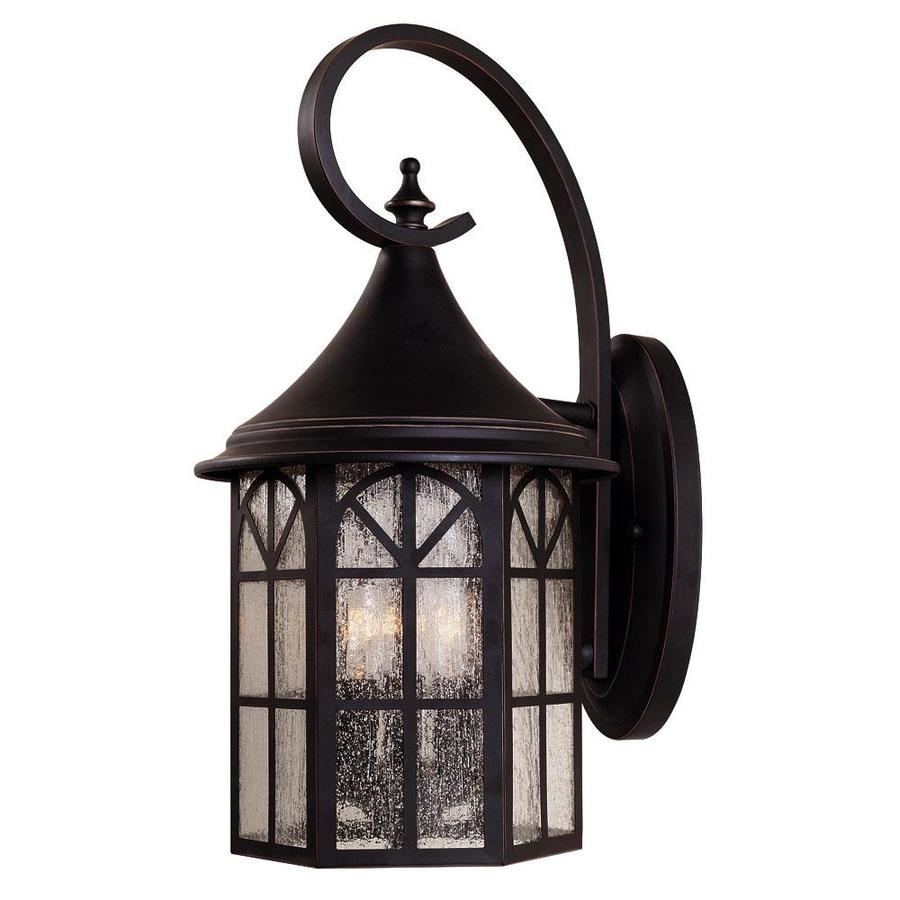 17.5-in H Slate Outdoor Wall Light