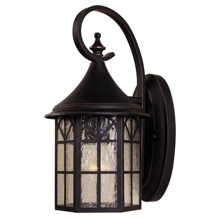 14-in H Slate Outdoor Wall Light