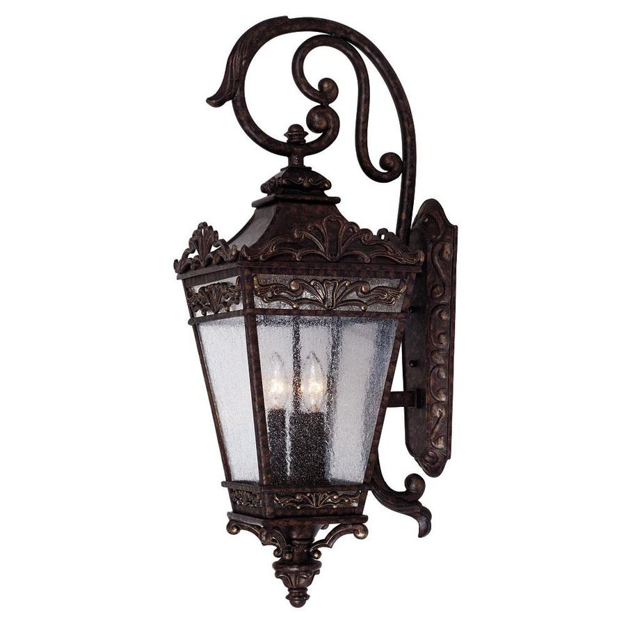 29-in H New Tortoise Shell Outdoor Wall Light