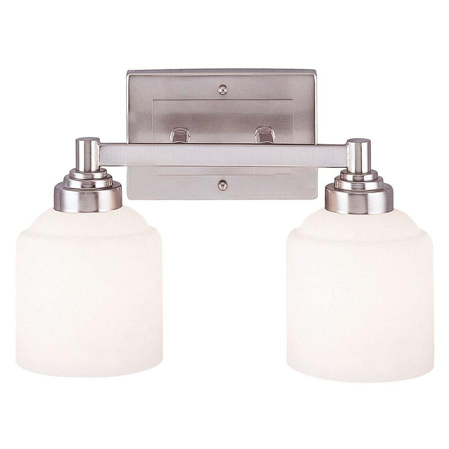 Shandy 2-Light 9.5-in Pewter Vanity Light