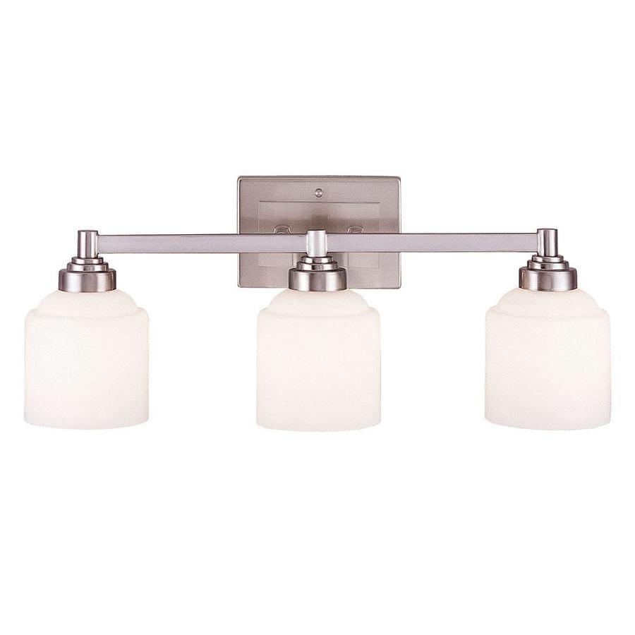 Vanity Lights Not Hardwired : Shop Shandy 3-Light 9.5-in Pewter Vanity Light at Lowes.com