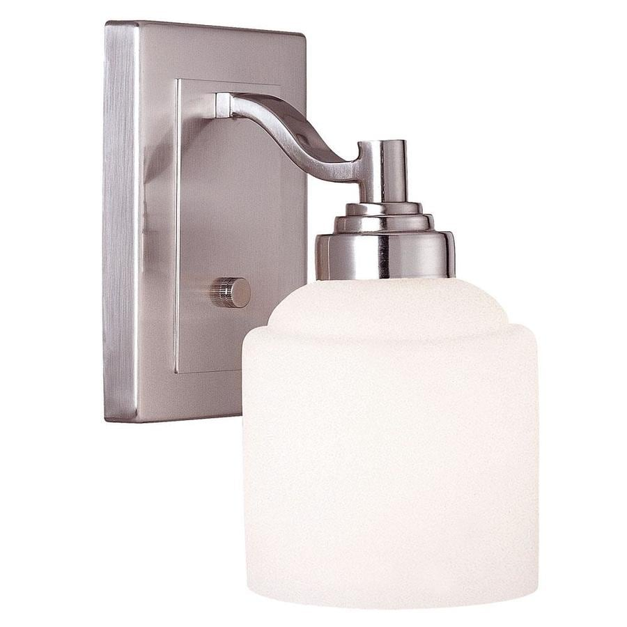 Shandy 1-Light 10-in Pewter Vanity Light