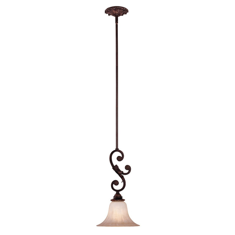 Shandy 10-in Antique Copper Single Pendant