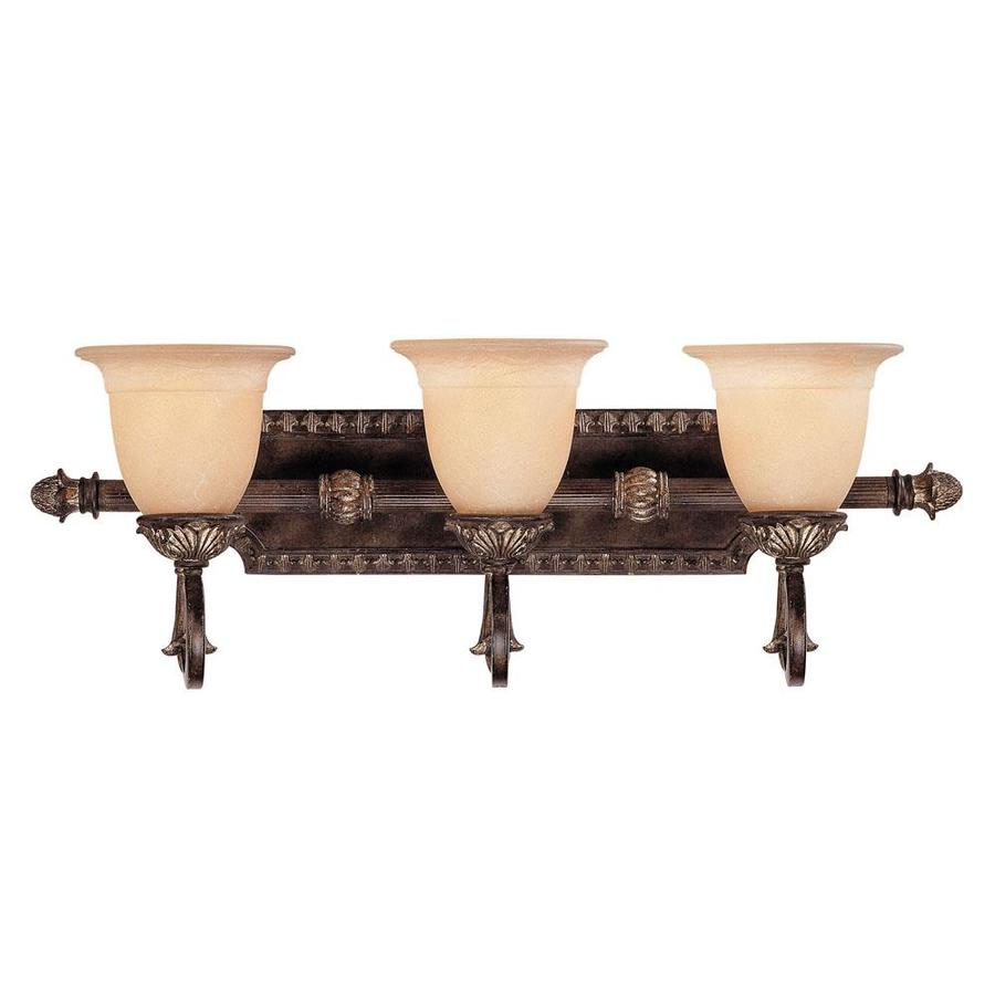 Shop Shandy 3-Light 11.25-in Moroccan Bronze Vanity Light at Lowes.com