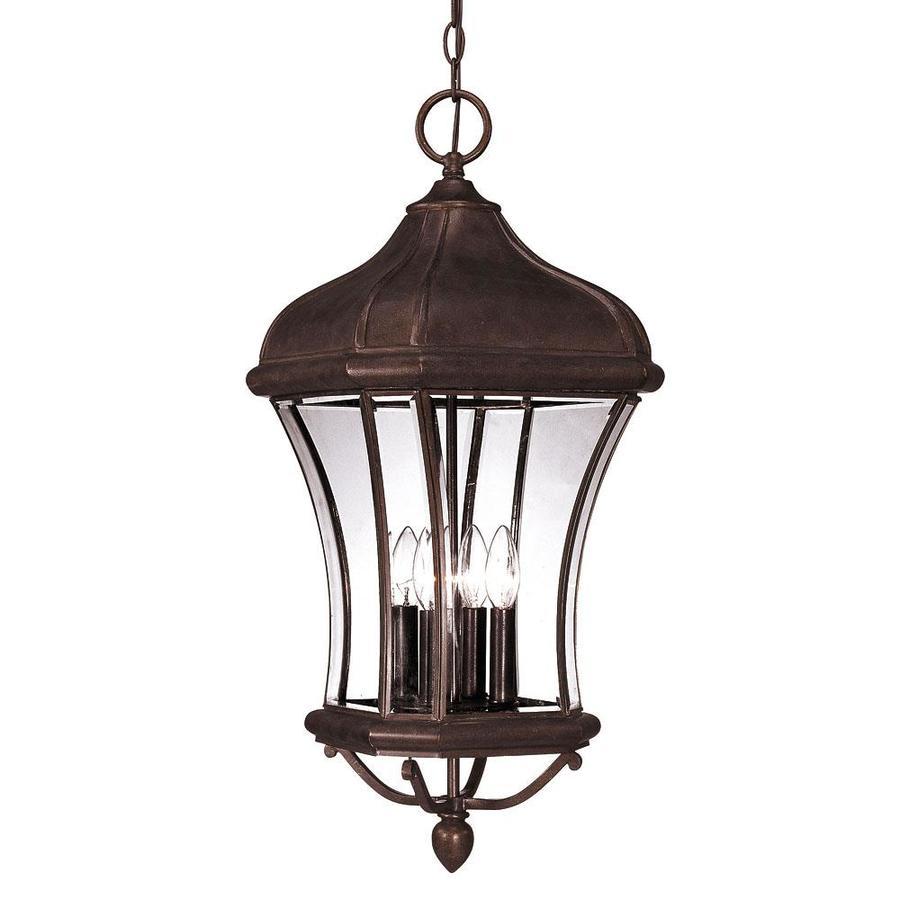 Kallisto 27.5-in Walnut Patina Outdoor Pendant Light