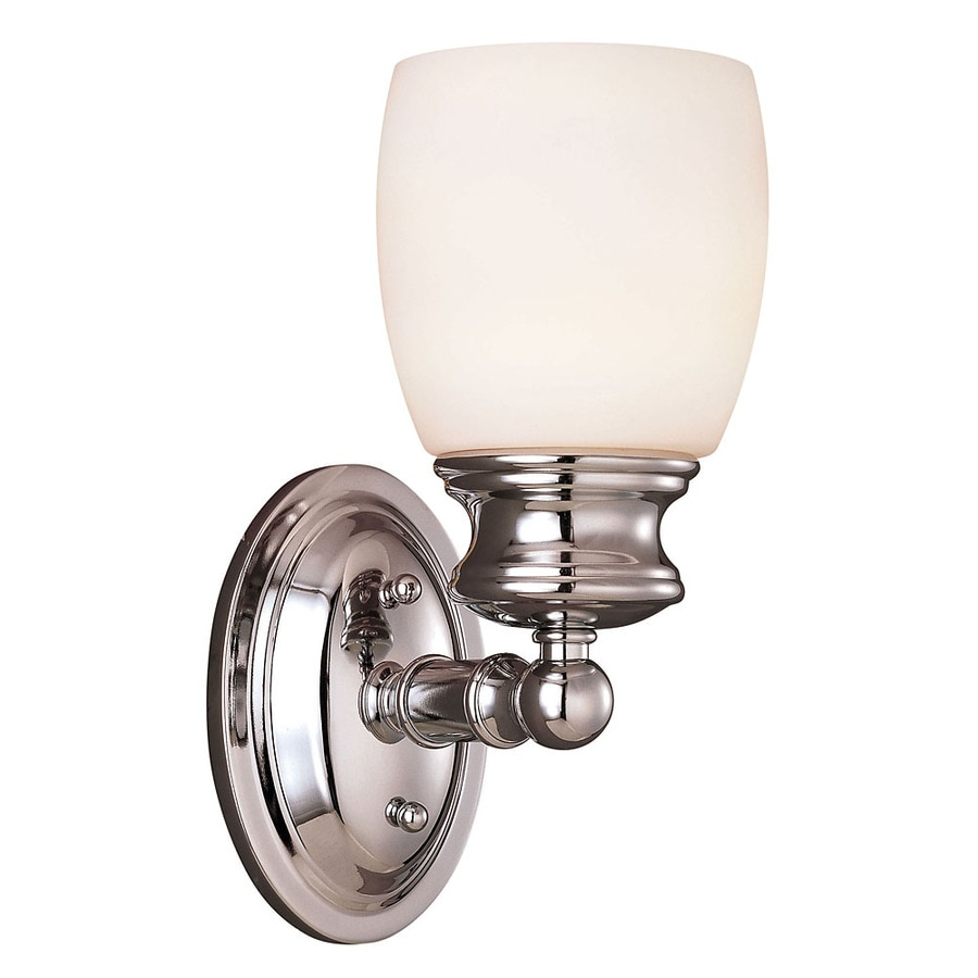 Vanity Lights Polished Chrome : Shop Shandy 1-Light 10.5-in Polished Chrome Vanity Light at Lowes.com
