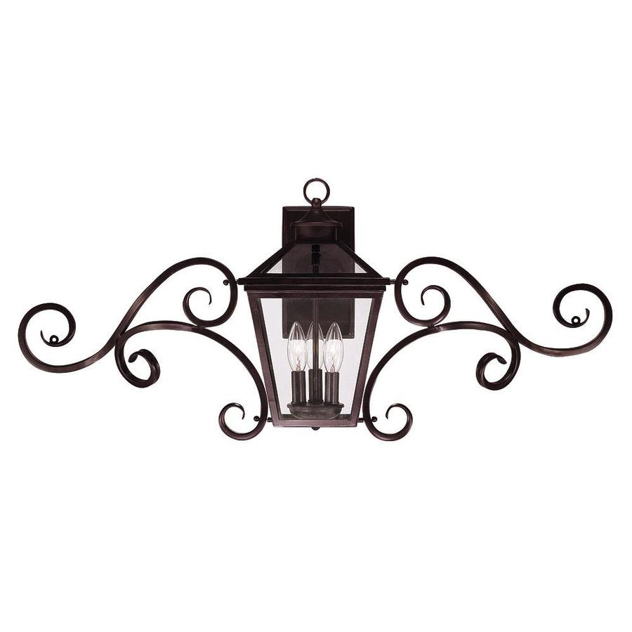 16.5-in H English Bronze Outdoor Wall Light