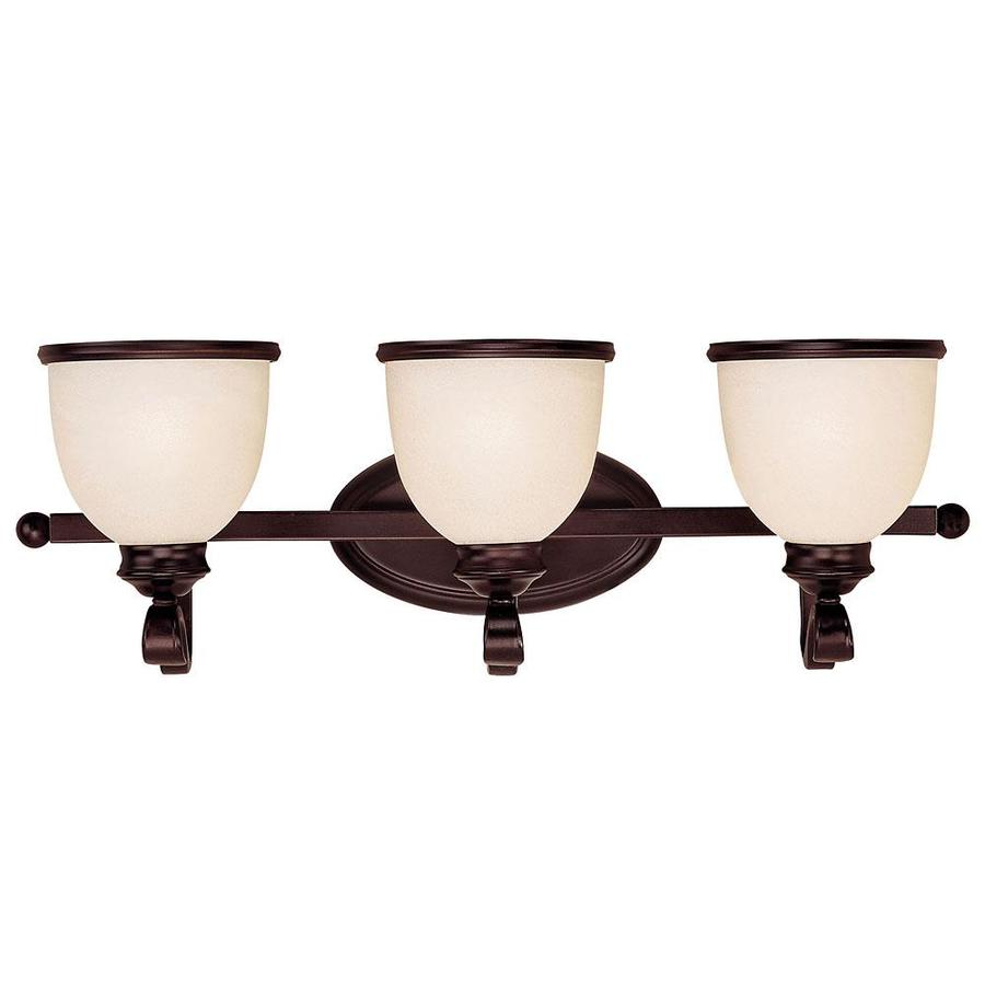 Shandy 3-Light 8.25-in English bronze Vanity Light