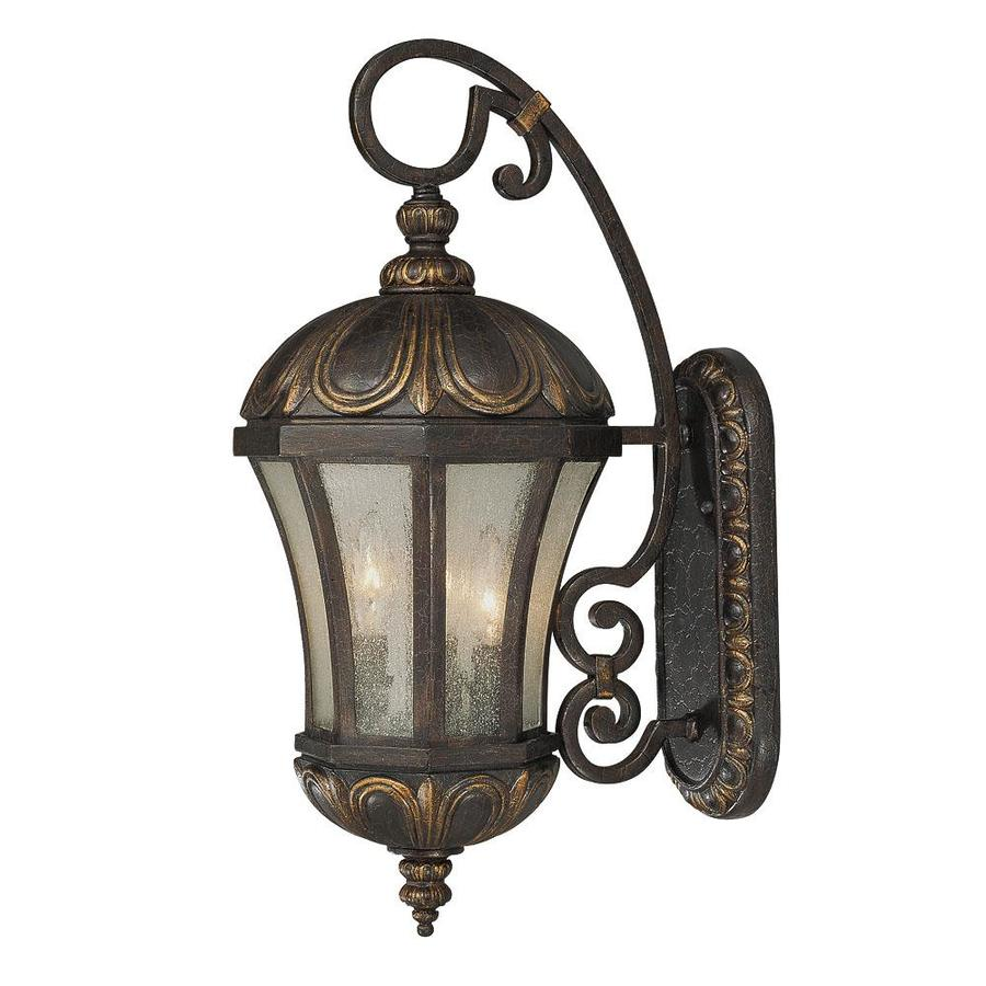 22.75-in H Old Tuscan Outdoor Wall Light