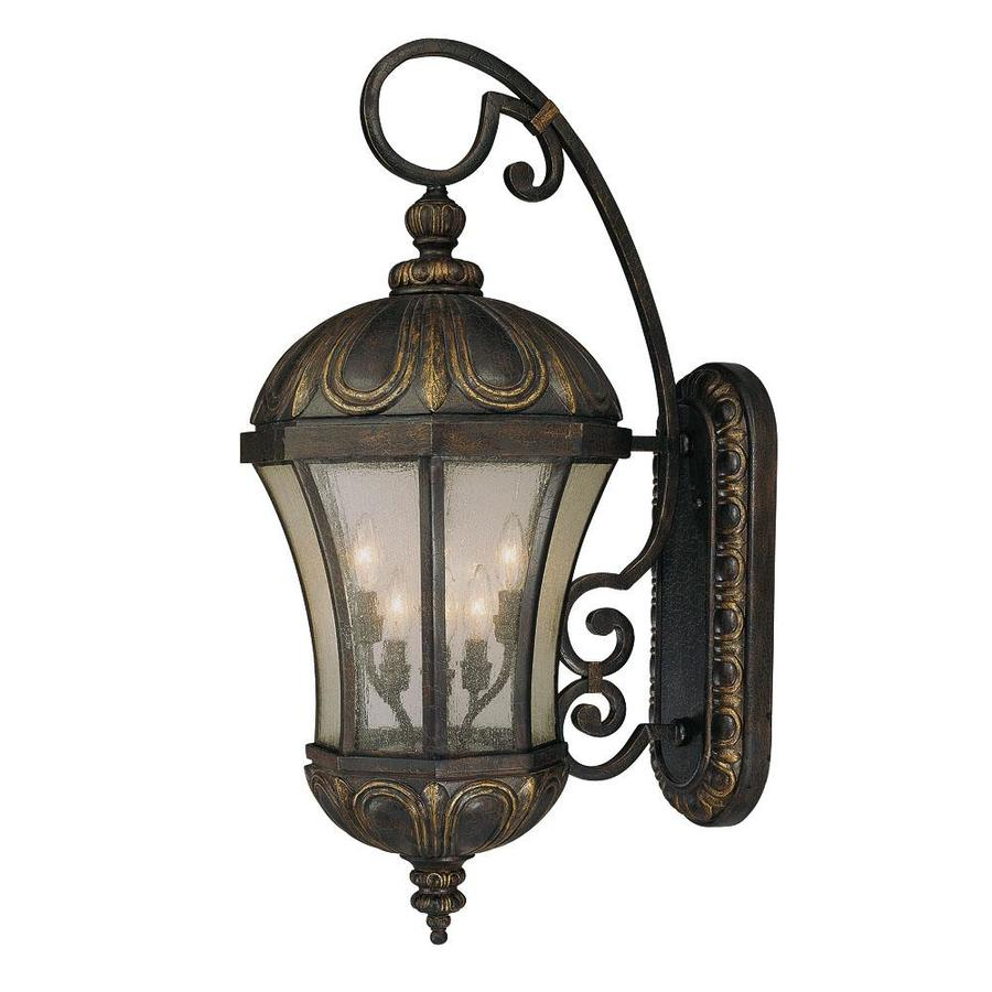 35.37-in H Old Tuscan Outdoor Wall Light