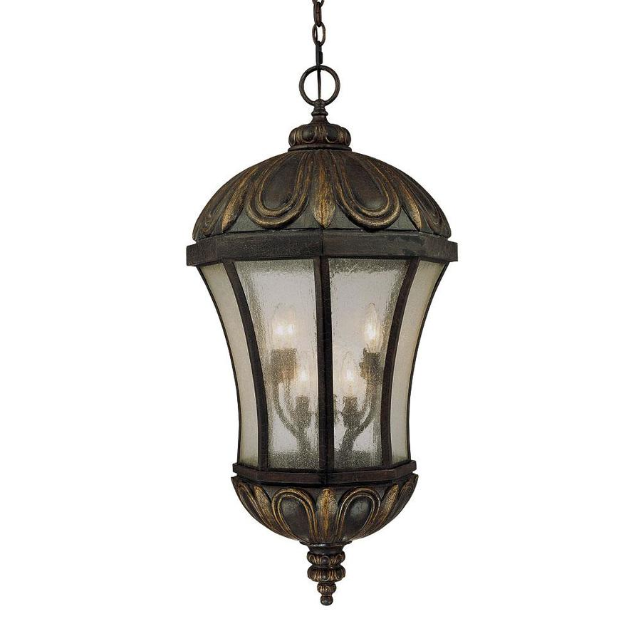 Uhland 35.25-in Old Tuscan Outdoor Pendant Light