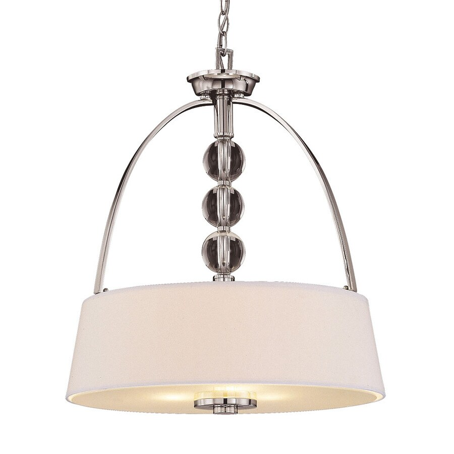 Shandy 20-in Polished Nickel Single Pendant