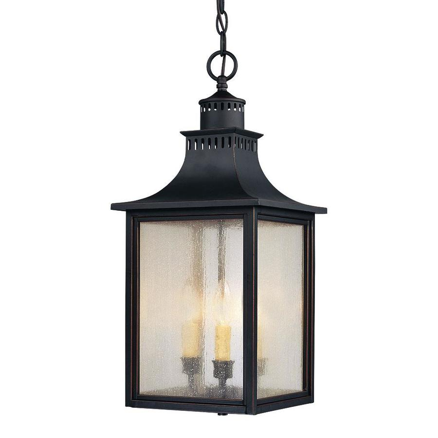 Germania 22.5-in Slate Outdoor Pendant Light