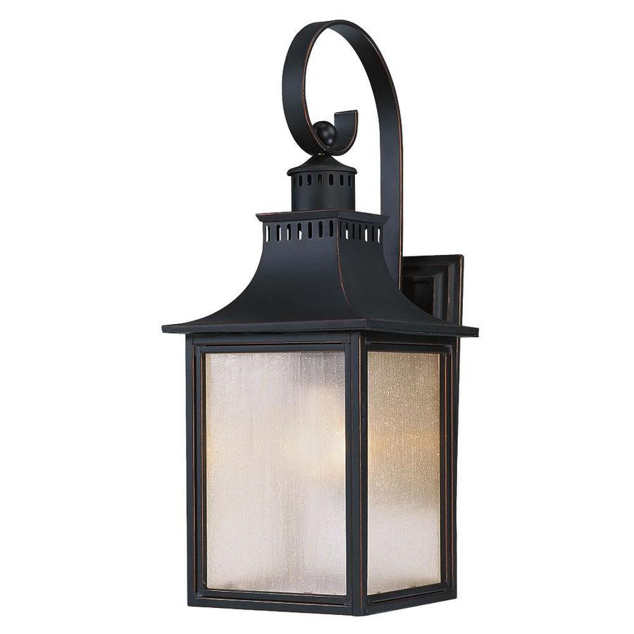 17.75-in H Slate Outdoor Wall Light