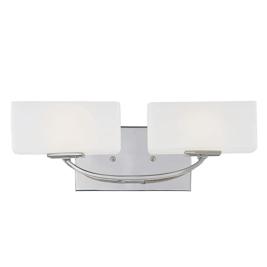 Shandy 2-Light 5.5-in Polished Nickel Vanity Light