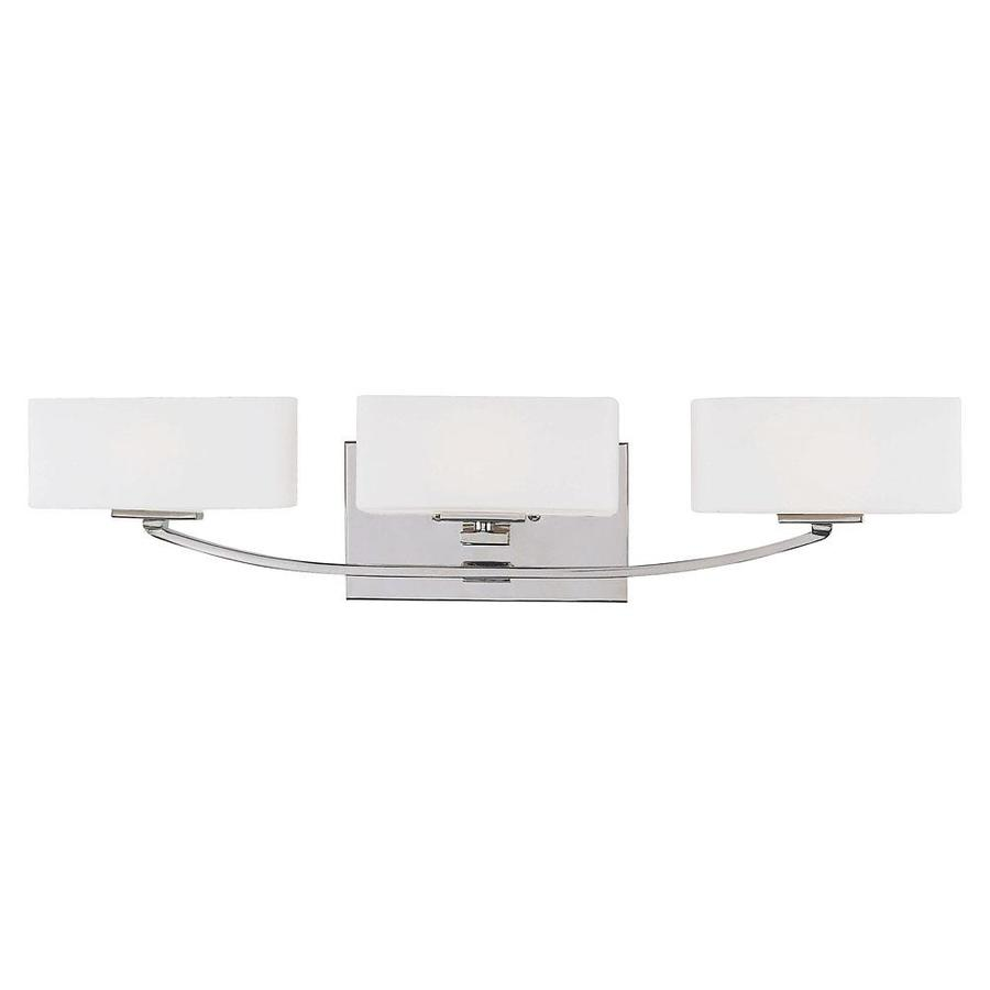 Shandy 3-Light 5.5-in Polished Nickel Vanity Light