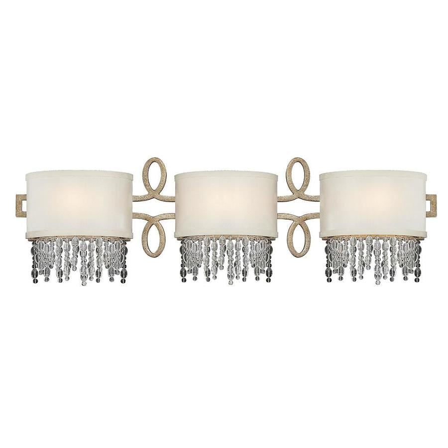 Shop Shandy 3 Light Gold Dust Vanity Light At