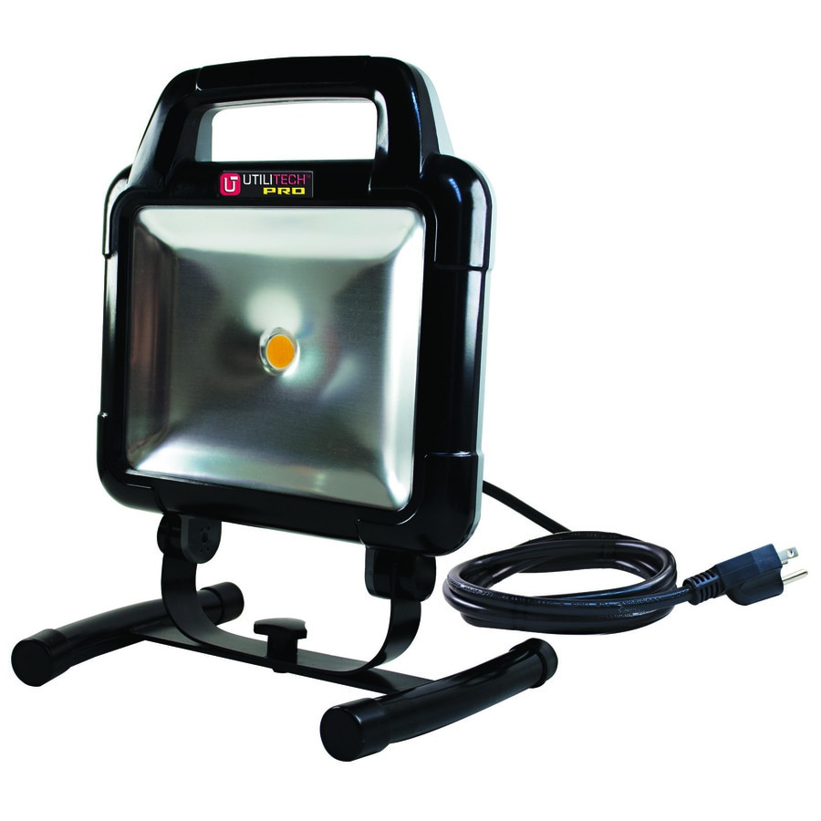 Utilitech Pro 1-Light 15-Watt LED Portable Work Light  sc 1 st  Loweu0027s & Shop Utilitech Pro 1-Light 15-Watt LED Portable Work Light at ... azcodes.com