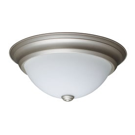 Project Source 13 In W LED Flush Mount Light